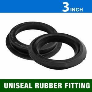 "3"" Uniseal Rubber Fittings"